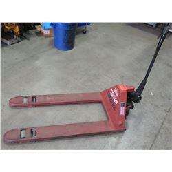 Dayton Manual Hand Hydraulic Pallet Jack Capacity 6000 lbs.