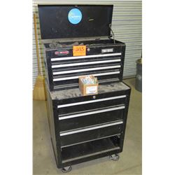 Rolling Tool Cabinet with Some Tools