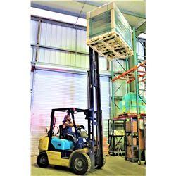Komatsu FG25T-12 Forklift - Runs, Drives, Lifts (See Video)