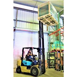 Komatsu FG25T-12 Forklift - Runs, Drives, Lifts - See Video (available for pick-up 2pm Sept. 29 )