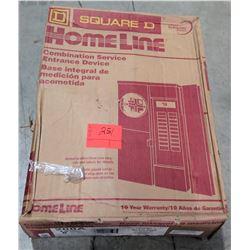 Square D Home Line SC12L200S Service Box
