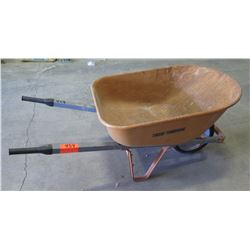 Metal 1 Tire Wheelbarrow w/ Rubber Handles
