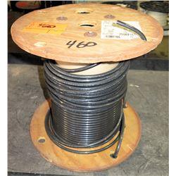 Spool Southwire THHN 2 Str Cu Bk 500R Cable