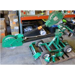 Greenlee 6800 Ultra Tugger Portable Cable Puller System (runs, see video)