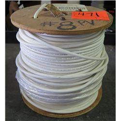 1 Spool #8 PV White Wire