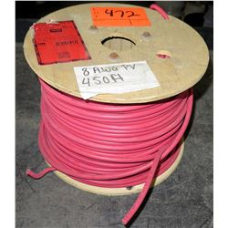 1 Spool #8 PV Red Wire