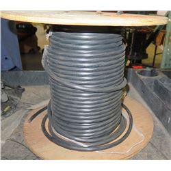 1 Spool 12/4C X500 Black Wire