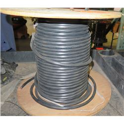 1 Spool 12/4C X500 Black Wire
