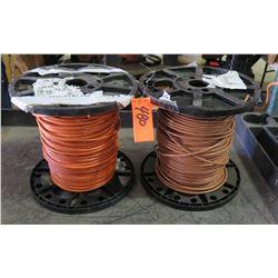 Qty 2 Spools #6-19 Wire