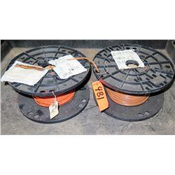 Qty 2 Spools #8 PVC 600V Wire
