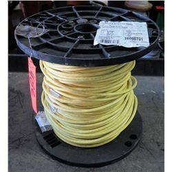 1 Spool #6 Yellow PVC 600V Wire