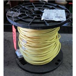1 Spool #6 Yellow PVC 600V Wire