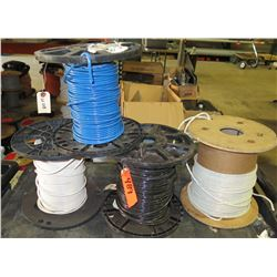 Qty 4 Spools #6 Misc Colored Wire