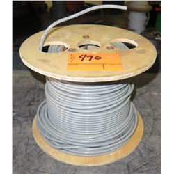 1 Spool VW-1 600V (UL) Gray Wire