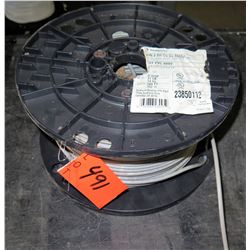 1 Spool THHN 8 Str Cu Gray PVC Wire