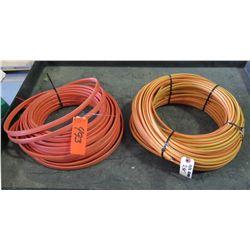 Qty 2 Orange #10 Wire Coils