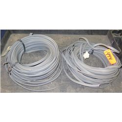 Qty 2 Gray 12/3 Wire Coils