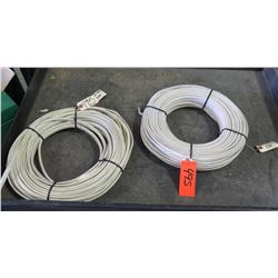 Qty 3 White 14/2 Romex Wire Coils