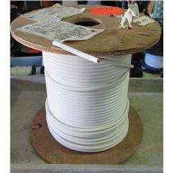 Qty 1 Spool 2-19 THHN Copper White Wire