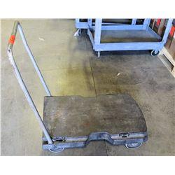 Metal 4 Wheel Platform Dolly Hand Truck