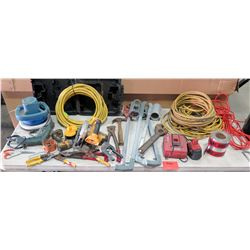 Misc Tools: DeWalt Drill/Driver, Circular Saw, Battery Chargers, etc