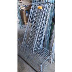 Metal Wire Shelving (Unassembled)