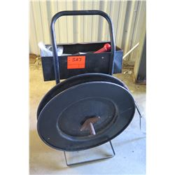 Metal Strapping Cart w/ Tools