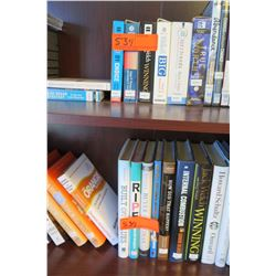 Contents of Shelf:  Multiple Books