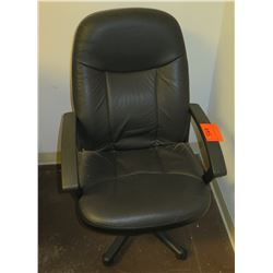 Rolling Executive Upholstered Office Arm Chair