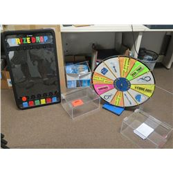 Party Games: Prize Drop & Spinning Wheel