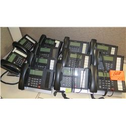Qty 12 Toshiba Office Multi-Line Phones