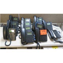 Qty 11 Polycom Office Multi-Line Phones