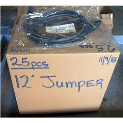 Box 25 pcs Rev02 12' Jumper 860-00010