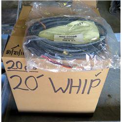 Box 20 pcs REV01 20' Whip 860-00008