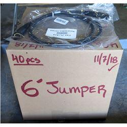 Box 40 pcs Rev02 6' Jumper 860-00009