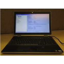 Dell Latitude E6530 2.5GHz 4096 MB Laptop w/ AC Adapter (no hard drive)