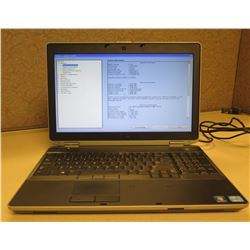 Dell Latitude E6530 2.7GHz 8192 MB Laptop w/ AC Adapter (no hard drive)