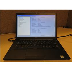 Dell Latitude 7480 2.3GHz 8192 MB Laptop w/ AC Adapter (no hard drive)