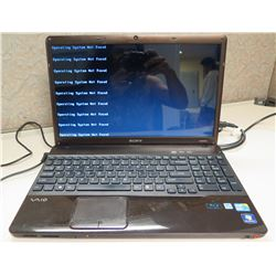 Sony VAIO Laptop (Operating system not found)