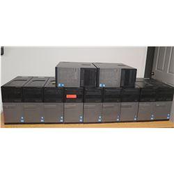 Qty 11 Dell OptiPlex 780/3010  Computer Towers  (no hard drive)