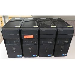 Qty 4 Dell Vostro Computer Towers (no hard drive)