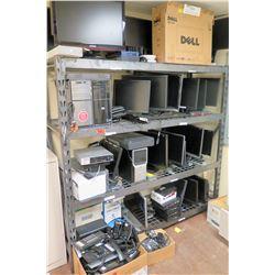Shelf & Electronics: Computer Towers, Monitors, Keyboards, etc
