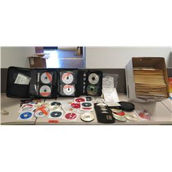 Binders & Loose CDs: Microsoft Partner Program, Dell Installation, etc