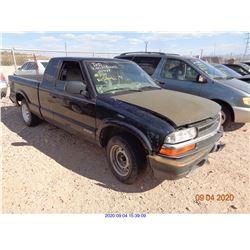 2002 - CHEVROLET S10 PICKUP
