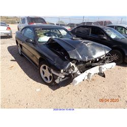 1996 - FORD MUSTANG/SALVAGE
