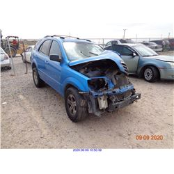 2005 - KIA SORENTO/RESTORED SALVAGE