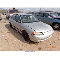 1998 - HYUNDAI ELANTRA/RESTORED SALVAGE