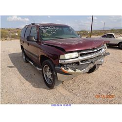 2000 - CHEVROLET TAHOE/RESTORED SALVAGE