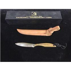 NEW D.H Russell Grohmann Belt Knife