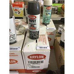 Case of KrylonSemi-Gloss Enamel Aerosol Spray (6 x 340g)